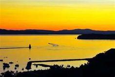 Lake Champlain sunset