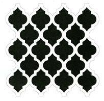 Moroccan Tile stencil - Click Image to Close