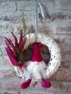 These THREE gnome wine bottle toppers are so darling! Swedish Christmas, Christmas Makes, Christmas Gnome, Scandinavian Christmas, All Things Christmas, Winter Christmas, Christmas Wreaths, Christmas Decorations, Christmas Ornaments