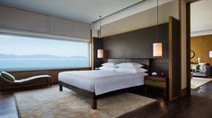 Park Hyatt Sanya Sunny Bay Resort features luxurious hotel accommodations and lodging. A central Sanya location near attractions and business centers. Suites, Luxurious Bedrooms, Sanya, Interior Design, Park, Furniture, Home Decor, Hospitality, Guest Room