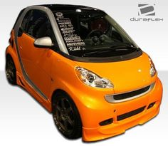 Duraflex 105667 Smart Fortwo Fx Front Lip Under Spoiler Air Dam Smart For 2, The Body Shop, Volkswagen Golf, 1 Piece, Lips, Stylish, Body Kits, Products, Christ