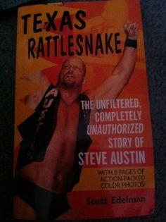 Texas Rattlesnake Texas Rattlesnake, Wwe Books, Steve Austin, Author, Writers