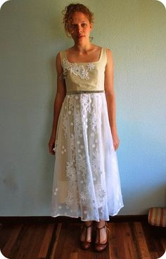 dresses made from tablecloths - Google Search