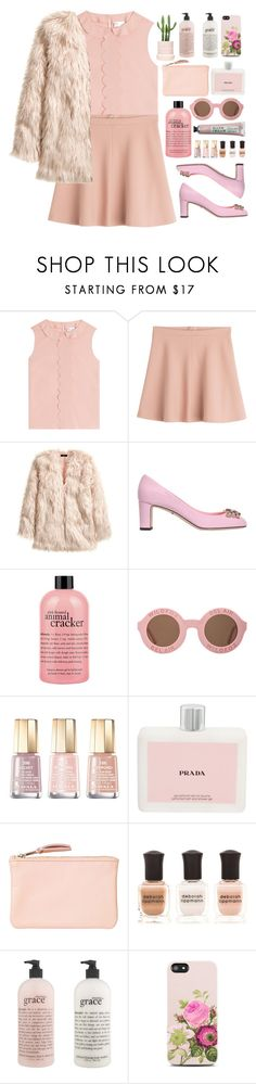 """Collecting names of the lovers that went wrong"" by annaclaraalvez ❤ liked on Polyvore featuring RED Valentino, H&M, Dolce&Gabbana, philosophy, Wildfox, Mavala, Prada, Monki, Deborah Lippmann and Samsung"