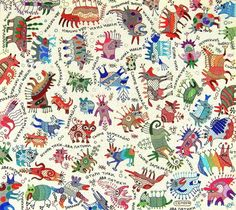 Textile work (85x95sm.) Shtyry tyky. on Behance