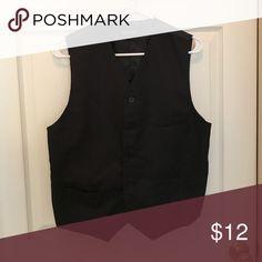Black formal vest - MENS Black formal vest for men with pockets Umo Lorenzo Suits & Blazers Vests