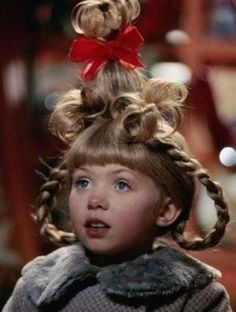 """Cindy Lou Who (played by Taylor Momsen), Christmas Hair from """"How The Grinch Stole Christmas"""" 