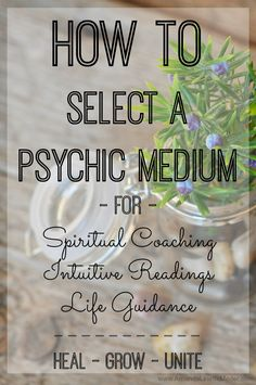 As a professional psychic medium and mediumship teacher, I am asked all the time for reading referrals! There is alot that goes into getting spiritual inspiration from the other side, and there is just as much that goes into who you'll be receiving it from. Read this article for more - | spiritual inspiration | quotes on life | psychic mediums |