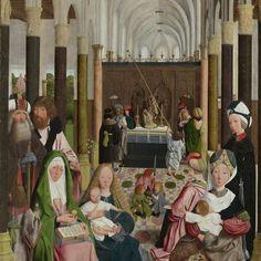 The Holy Kinship, Geertgen tot Sint Jans (workshop of), c. 1495 - Rijksmuseum