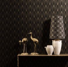 architectural digest wallpaper | by architectural details from Deco buildings, the Cabaret wallpaper ...