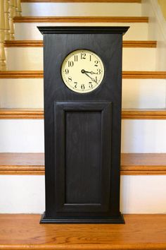 Hook Your Own Panel Wall or Mantel Clock