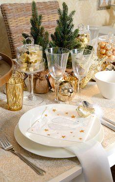 Stelle Dir Deine eigene glamouröse goldene Tischdekoration im DEPOT Onlineshop zusammen. Viel Spaß beim Stöbern!