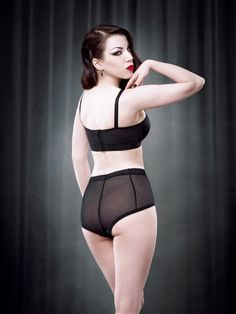 Van Doren Seamed Shortie — Kiss Me Deadly.  Much the same as the other KMD knicker, but seamed.
