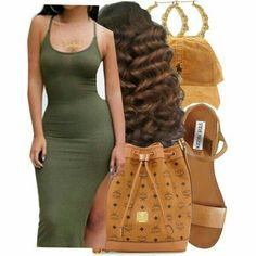 A fashion look from April 2016 featuring sexy dresses, steve madden sandals and mcm backpack. Browse and shop related looks. Swag Outfits For Girls, Cute Swag Outfits, Komplette Outfits, Dope Outfits, Teen Fashion Outfits, Polyvore Outfits, Womens Fashion, Polyvore Fashion, Baddie Outfits Casual