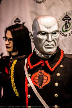 Destro and the Baroness   Emerald City Comicon 2013 by RedRing Pictures