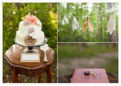Vintage Inspired Camp Wedding