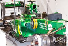 A Caterham sits in the team garage in between practice sessions at the US Grand Prix in Austin, Texas. Gaming Pcs, Dell Computers, Computer Technology, Austin Texas, Grand Prix, November, Garage, Cars, November Born