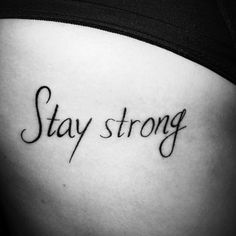 tattoos meaning strength stay strong ~ tattoos meaning strength - tattoos meaning strength for women - tattoos meaning strength symbols - tattoos meaning strength stay strong - tattoos meaning strength and courage - tattoos meaning strength inspiration Strong Tattoos, Side Tattoos, Word Tattoos, Tattoos For Guys, Tatoos, Courage Tattoos, Symbols Tattoos, Tattoos Meaning Family, Tattoos Meaning Strength