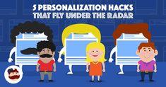 5 Personalization Hacks that Fly Under the Radar - AdEspresso - marketingIO Marketing Technology, Marketing Automation, Social Marketing, Facebook Marketing, Inbound Marketing, Digital Marketing, How To Use Facebook, Facebook Business, Cool Websites