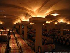 Ferrari-Carrano Winery in Sonoma, Calfornia. You have to go there!