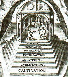 Risultati immagini per 7 alchemical steps