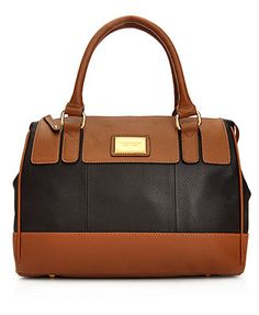 Tignanello Handbag, Social Leather Satchel