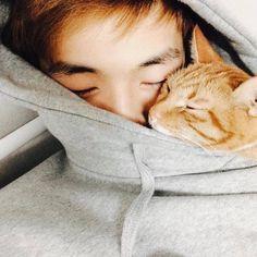 Daniel K, Jihyo Twice, First Boyfriend, Face Characters, People Photography, Boyfriend Material, Kittens Cutest, Jinyoung, Cute Animals
