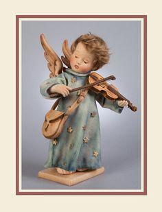 John Wright Celestial Musician Christmas Angel Doll — R. John Wright, Felt Cover, Hummel Figurines, Bear Doll, Felt Animals, Holiday Gift Guide, Christmas Angels, The Little Mermaid, Wool Felt