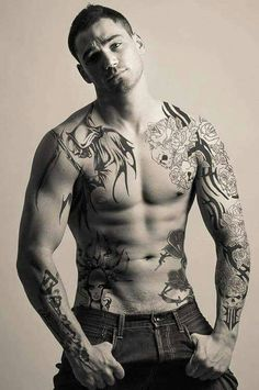 60cdacc73633fc Hottest Guys With Tattoos