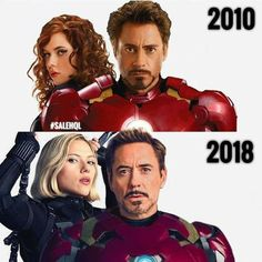 Natasha and Tony 2010-2018