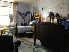 Superhero Boys Bedroom