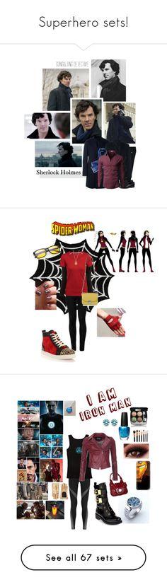 """Superhero sets!"" by krgood7 ❤ liked on Polyvore featuring Dolce&Gabbana, Roda, Tod's, men's fashion, menswear, TV, sherlock, benedictcumberbatch, bbc and Wolford"