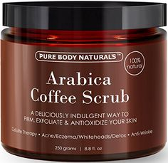 one hundred% Pure Arabica Espresso Scrub eight.eight fl. oz. with Natural Espresso, Coconut and Shea Butter - Greatest Pimples, Anti Cellulite and Stretch Mark remedy, Spider Vein Remedy for Varicose Veins & Eczema