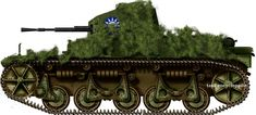 France (1935) Republic of China (1938-1942?) Light Tank - 19? built Upgrading the AMR 33