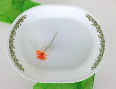 Corelle Corning Crazy Daisy Spring Blossom Serving Platter. $9.00, via Etsy.