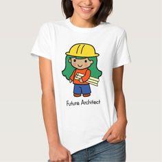 Future Architect - Girl T Shirt, Hoodie Sweatshirt
