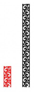 Folk Embroidery, Embroidery Patterns Free, Cross Stitch Embroidery, Cross Stitch Patterns, Cross Stitch Bookmarks, Cross Stitch Borders, Cross Stitch Designs, Seed Bead Patterns, Beading Patterns