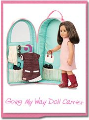 Our Generation Doll Carrier - Stars : Target- Braelyn Og Dolls, Girl Dolls, Baby Dolls, Our Generation Doll Accessories, Our Generation Doll Clothes, Doll Storage, Doll Organization, Storage Area, My Life Doll Clothes