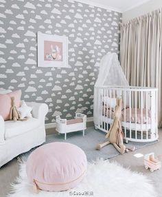 Baby Girl Bedroom Decor idées déco pour petites filles | floral nursery, floral letters