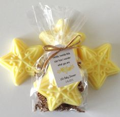 Star Soap Baby Shower Favors with Custom Tags by mimozahandcrafted Baby Shower Yellow, Soap Favors, Star Nursery, Star Baby Showers, Custom Tags, Twinkle Twinkle Little Star, Handmade Soaps, Baby Shower Favors, Nursery Rhymes