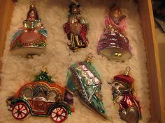 Cinderella Christmas Ornaments by Polonaise