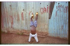 A childs picture taken with disposable camera, Kibera, 2010