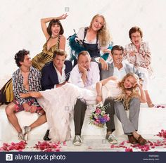 Mamma Mia Mamma Mia The Movie 2008 Real Phyllida Lloyd Christine BARANSKI Meryl STREEP Dominic COOPER Colin FIRTH Stellan SKARSGARD Pierce BROSNAN Amanda SEYFRIED Universal Pictures / COLLECTION CHRISTOPHEL Stock Photo