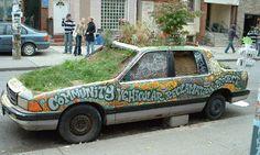 Kensington Flower Car- Magazine shoot here please!