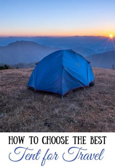 Best Camping & Backpacking Tents  #camping #backpacking #campingtips #campinggear #traveltips