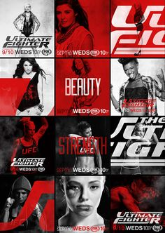 THE ULTIMATE FIGHTER on Motion Graphics Served