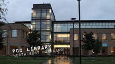 PCC Library 705 N. Killingsworth St, Portland. Watch #Portlandia - Hide and Seek on YouTube: http://youtu.be/t3z50Uy0DpE Click image to find location on Google Maps & details on each location from PopSurf. Website: www.pcc.edu/library Twitter: @pcclib www.twitter.com/pcclib