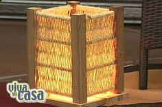 Cómo hacer una lámpara de mesa | Hacer bricolaje es facilisimo.com