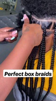 Cute Box Braids Hairstyles, Braided Cornrow Hairstyles, Box Braids Hairstyles For Black Women, Braids Hairstyles Pictures, Braids For Short Hair, African Braids Hairstyles, Children Braided Hairstyles, Black Hair Braid Hairstyles, Braids For Black Kids