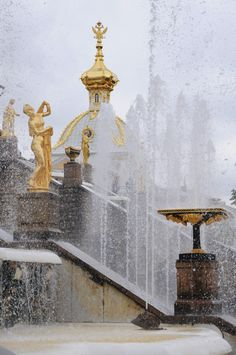 Peterhof Palace, St. Petersburg,